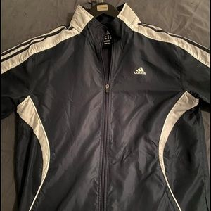 Men's Adidas Navy Track Jacket (M)